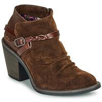 Shoes Women Ankle boots Blowfish Malibu LAMA Brown