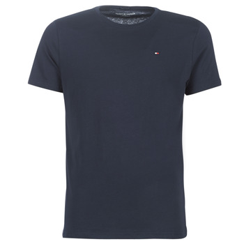 material Men short-sleeved t-shirts Tommy Hilfiger COTTON ICON SLEEPWEAR-2S87904671 Marine