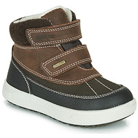 Shoes Boy Mid boots Primigi PEPYS GORE-TEX Brown