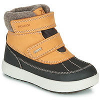 Shoes Boy Mid boots Primigi (enfant) PEPYS GORE-TEX Honey