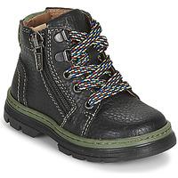 Shoes Boy Mid boots Primigi PLAY TRACK Black