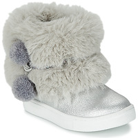 Shoes Girl Mid boots Primigi BABY STARS Silver