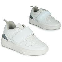 Shoes Children Low top trainers Primigi INFINITY LIGHTS White