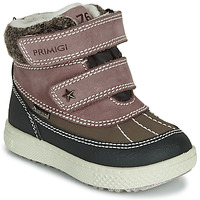 Shoes Girl Mid boots Primigi PEPYS GORE-TEX Old / Pink / Brown