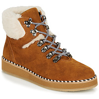 Shoes Women Mid boots Ippon Vintage RIDE LAND Camel