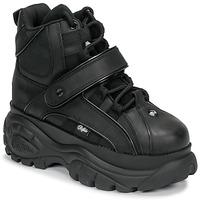 Shoes Women High top trainers Buffalo 1348 Black