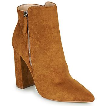 Shoes Women Ankle boots Buffalo FERMIN Cognac