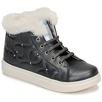 Shoes Girl High top trainers Pablosky 66955 Grey
