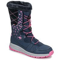 Shoes Women Snow boots Kangaroos K-GLAZE RTX Marine / Pink
