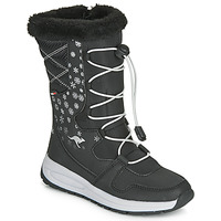 Shoes Women Wellington boots Kangaroos K-GLAZE RTX Black / Grey