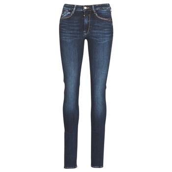 material Women slim jeans Le Temps des Cerises PULP HIGH SLIM Blue