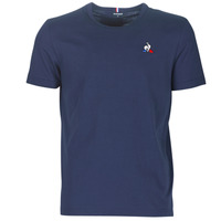 material Men short-sleeved t-shirts Le Coq Sportif ESS TEE SS N°2 M Blue / Marine