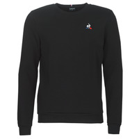 material Men sweaters Le Coq Sportif ESS CREW SWEAT N°2 M Black
