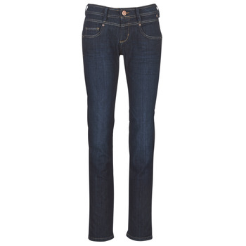 material Women straight jeans Freeman T.Porter CATHYA SDM Blue / Raw