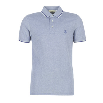 material Men short-sleeved polo shirts Selected SLHTWIST Marine