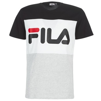 material Men short-sleeved t-shirts Fila DAY TEE Grey / Black