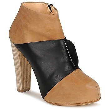 Shoes Women Ankle boots Terhi Polkki EINY BEIGE / Black