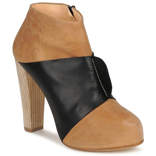 Shoes Women Low boots Terhi Polkki EINY Beige / Black