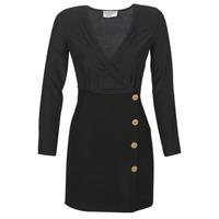 material Women Short Dresses Moony Mood LUCE Black