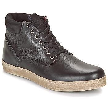 Shoes Men Mid boots Casual Attitude LEO Black