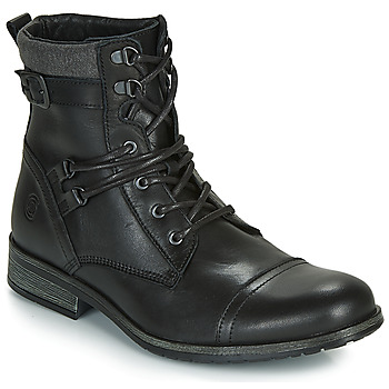Shoes Men Mid boots Casual Attitude RIVIGH Black
