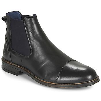 Shoes Men Mid boots Casual Attitude JANDY Black