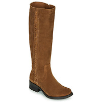 Shoes Women Boots Casual Attitude LOUNA Taupe