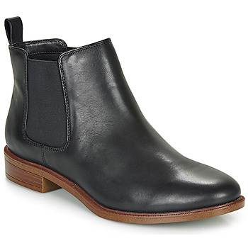 Shoes Women Mid boots Clarks TAYLOR SHINE Black