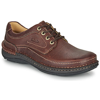 Shoes Men Derby shoes Clarks NATURE THREE Brown