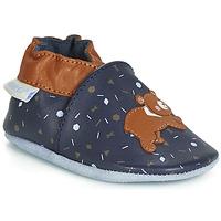 Shoes Children Baby slippers Robeez GAME RUN Marine / Brown