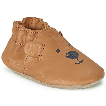 Shoes Children Baby slippers Robeez SWEETY BEAR Camel