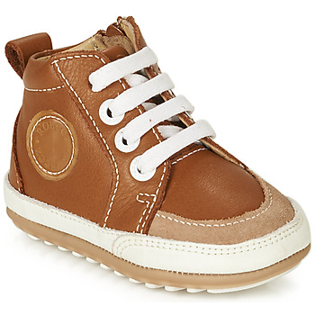 Shoes Children Mid boots Robeez MIGO Cognac