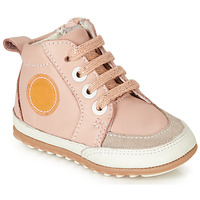 Shoes Girl Mid boots Robeez MIGO Pink