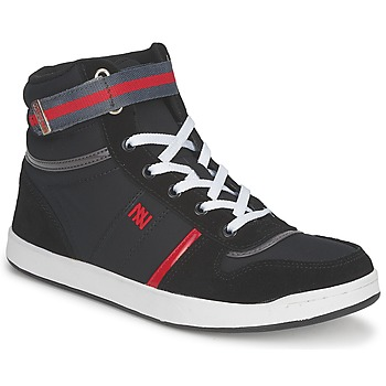 Shoes Women High top trainers Dorotennis BASKET NYLON ATTACHE Black