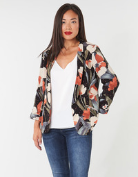 material Women Jackets / Blazers Betty London IOUPA Black / Multicolour