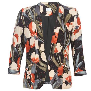 material Women Jackets / Blazers Betty London IOUPA Black / Multicoloured