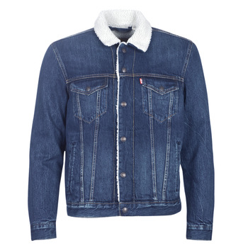 material Men Denim jackets Levi's TYPE 3 SHERPA TRUCKER Sherpa / Trucker