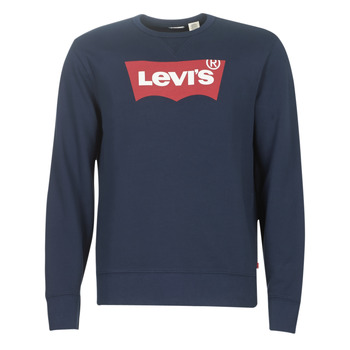 material Men sweaters Levi's GRAPHIC CREW B Marine / Red