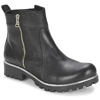 Shoes Women Mid boots Andrea Conti GLIONE Black