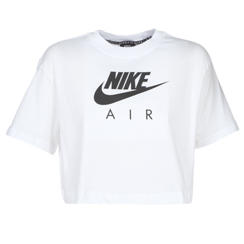 material Women short-sleeved t-shirts Nike W NSW AIR TOP SS White