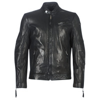 material Men Leather jackets / Imitation le Redskins TRUST VICTORY Black