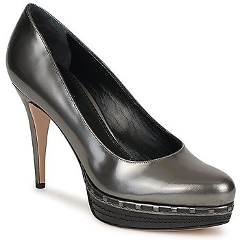 Shoes Women Court shoes Sebastian TREDACCIAIO Grey