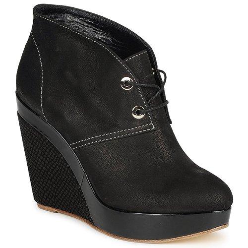 Shoes Women Low boots Gaspard Yurkievich C4-VAR8 Black
