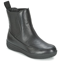 Shoes Women Mid boots FitFlop FF-LUX CHELSEA BOOT Black