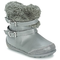Shoes Girl Boots Chicco GELDA Grey