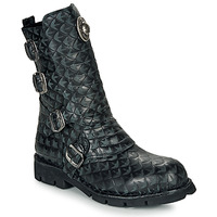 Shoes Mid boots New Rock  Black