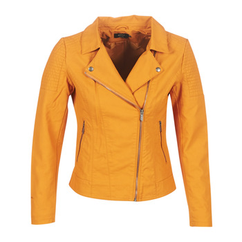 material Women Leather jackets / Imitation le Only ONLMEGAN Yellow