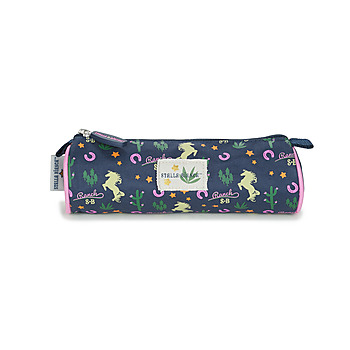 Bags Girl Pouches Back To School STALLA BIANCATROUSSE RONDE Marine