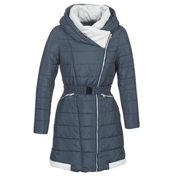 material Women Duffel coats Betty London LOLAPO Blue / Marine