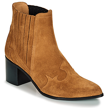 Shoes Women Ankle boots Emma Go BROOKLYN Cognac